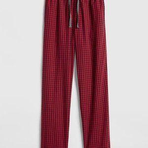GAP Pajama Pants in Tiny Gingham